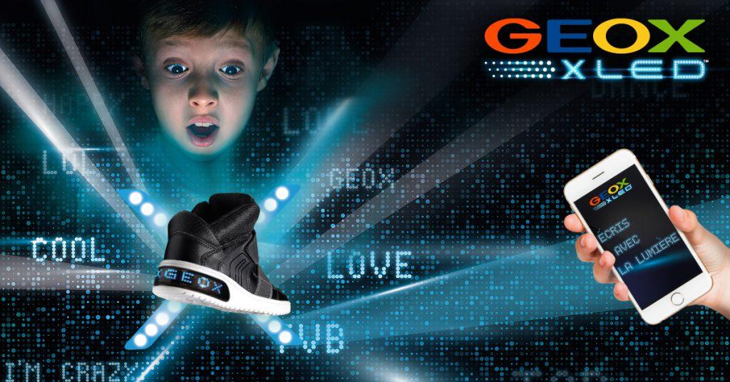 Geox XLED pour enfants