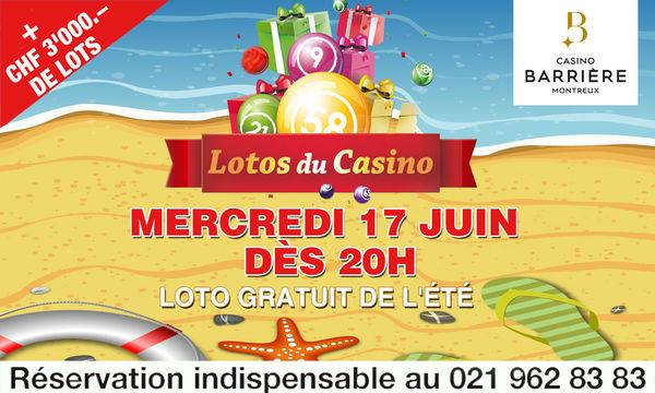 Loto gratuit casino montreux casino rama 5899 rama road
