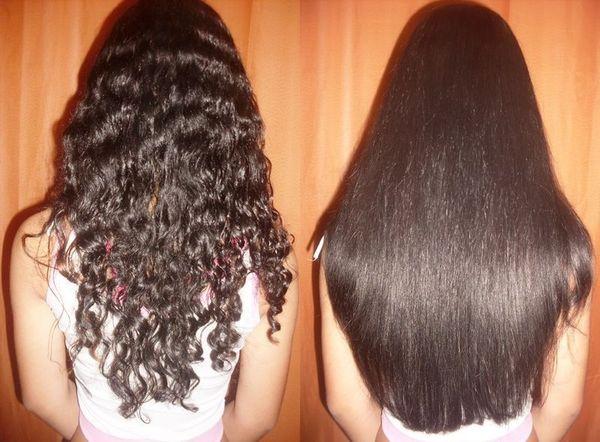 Lissage bresilien pour cheveux long